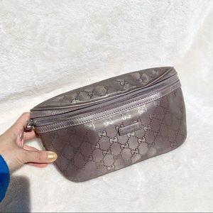 NWT Authentic Gucci GG Plus Zip Belt Purse